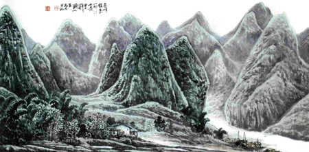 Guilin Landscape Painting, Guilin Guide, Guilin Travel, China Travel