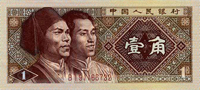 1 jiao, 1 mao, RMB, china currency, money, china guide, china travel, china tours
