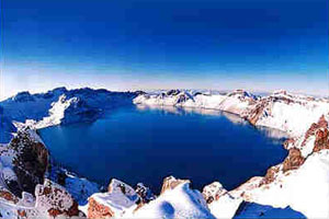 Tianchi Lake in Yunlong County