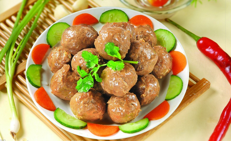 Stewed Meatballs , Suzhou Guide, Suzhou Travel