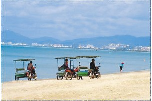 Pedicab, Sanya Guide,Sanya Travel