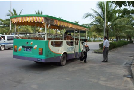 Bus, Sanya Guide,Sanya Travel