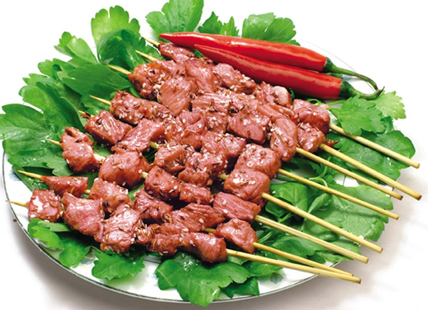 mutton kebabs, Hotan Travel, Hotan Guide