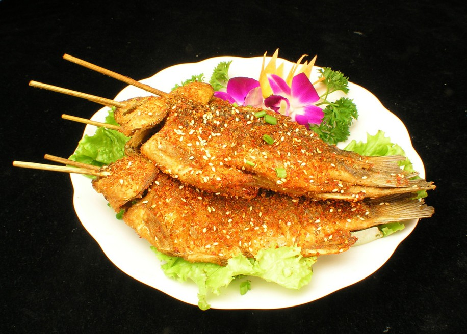 roast fish , Hotan Travel, Hotan Guide