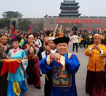 The Magistrate welcoming Guests, Pingyao Travel, Pingyao Guide