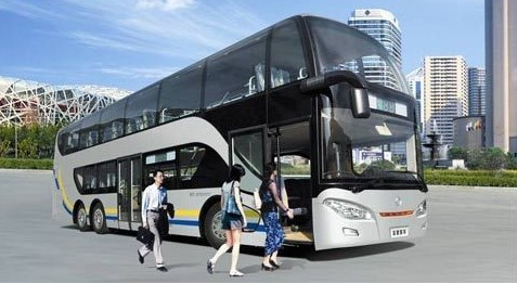 Air-conditioned Tourist Bus, Qingdao Travel, Qingdao Guide