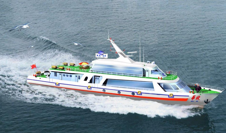 Pleasure-boat, Qingdao Travel, Qingdao Guide