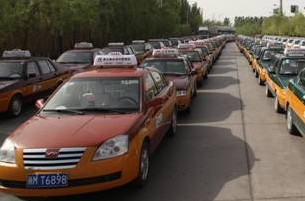 Taxi, Yinchuan Travel, Yinchuan Guide