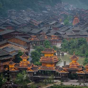 Chinese Minorities' Architecture Experience Tour