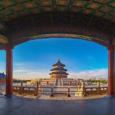 One Day Tour to Tiananmen Square, Forbidden City and Temple of Heaven
