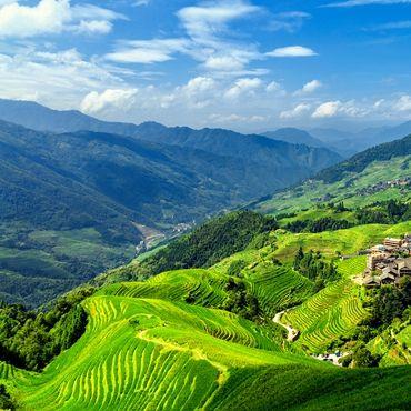 Three-day Rice Terrace & Minority Village Hike (from Jiangliu to Ping'an)
