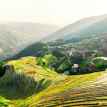 One-day Rice Terrace & Minority Village Hike (from Longji to Ping'an)