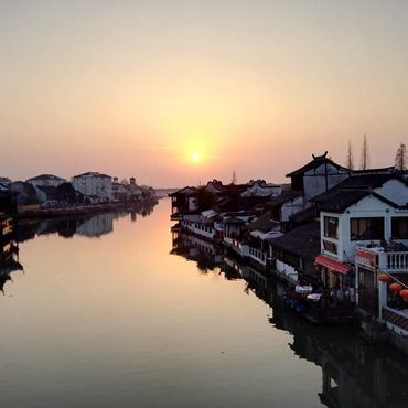 One Day Bus Tour to Zhujiajiao, Shanghai Museum and People's Square