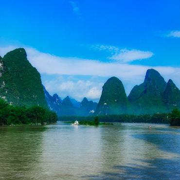 One-day Highlight Li River Hike (from Xianei to Xingping)